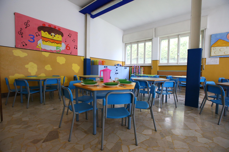 La sala pranzo e cucina | Scuola Infanzia Vasconi